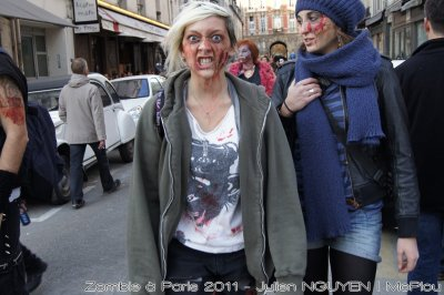 Zombie Walk Paris 2011 | 30 Seconds To Mars le 11 et 12 Novembre 2011 | BIGBANG MUSIC BANK 8 et 9 F�vrier 2011 Bercy