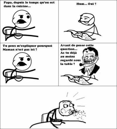 Coup de cœur mini-BD : Les meme comics / trolls face.